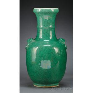 Emerald Green Vase