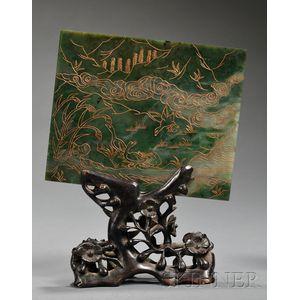 Jade Plaque