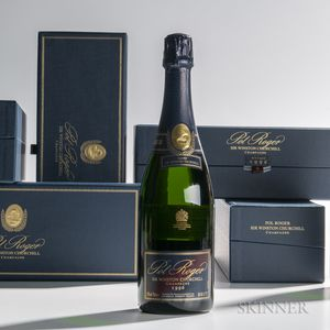 Pol Roger Sir Winston Churchill 1996, 5 bottles (ind. pc)