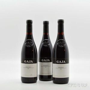 Gaja Barbaresco 1997, 3 bottles
