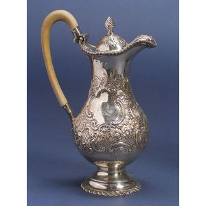 Irish Sterling Coffeepot