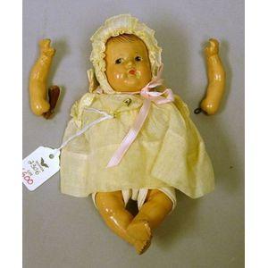 Madame Alexander Composition Dionne Quintuplet Baby Doll