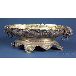 Tiffany & Co. Sterling Aesthetic Movement Center Bowl