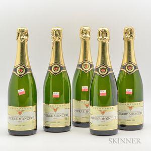 Pierre Moncuit Cuvee Pierre Moncuit Delos Blancs de Blancs Brut, 5 bottles