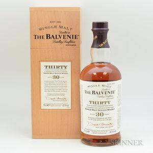 Balvenie 30 Years Old, 1 70cl bottle (owc)