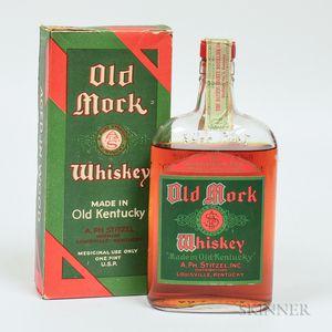 Old Mork 17 Years Old 1916, 1 pint bottle (oc)