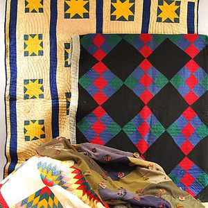 Four Patchwork Quilts