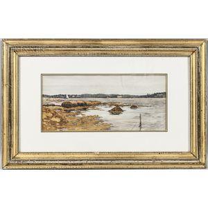 Ben Foster (American, 1852-1926)      Wiscasset, Maine