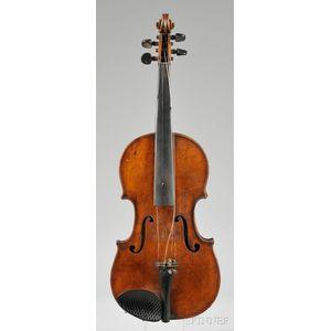 French Violin, Jerome Thibouville-Lamy, c. 1900