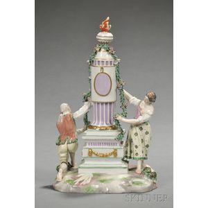 Ludwigsburg Porcelain Figure Group