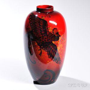 Royal Doulton Flambe Sung Ware Vase