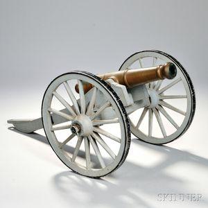 Civil War Cannon Model