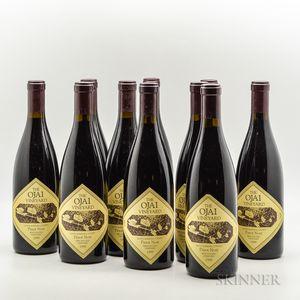 Ojai Vineyard Bien Nacido Vineyard Syrah 1999, 10 bottles