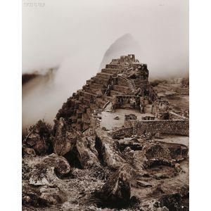 Linda Connor (American, b. 1944)      Lot of Three Views of Historic Places:  Machu Pichu, Peru