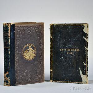 Two U.S. Naval Books