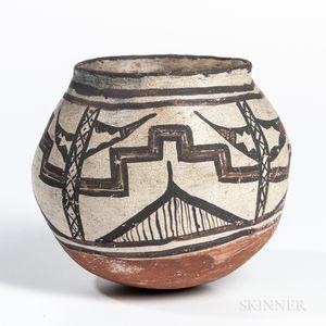 Small Zuni Polychrome Pot