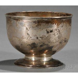 George II Silver Sugar Bowl