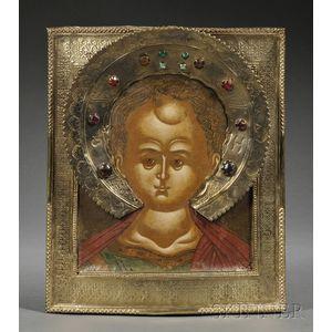 Russian Icon of Christ Emmanuel