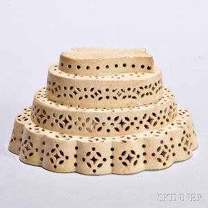Creamware Dessert Mold