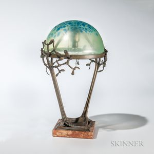 Karl Loder Art Nouveau Table Lamp