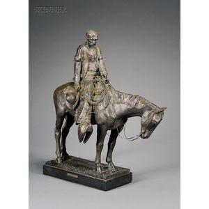 Harry Andrew Jackson  (American, b. 1924)      Cowboy