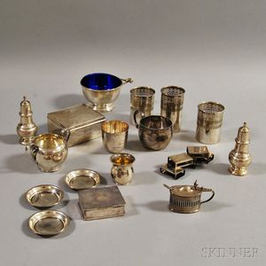 Group of Miscellaneous Mostly Sterling Silver Tableware