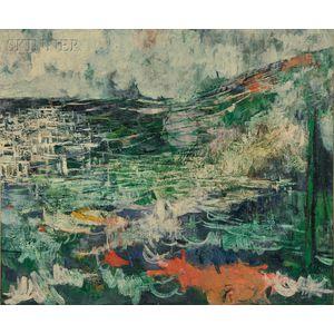 Mordecai Ardon (Polish, 1896-1992)      Near Jerusalem