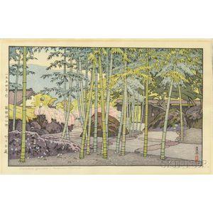Toshi Yoshida (1911-1995), Bamboo Garden, Hakone Museum