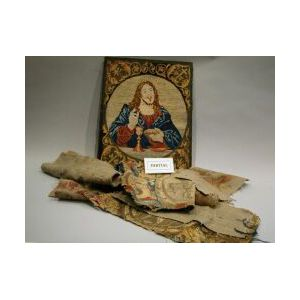 Brussels and Aubusson Textile Fragments and Upholstery.