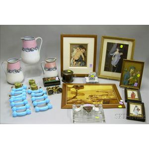 Group of Assorted Decorative Articles