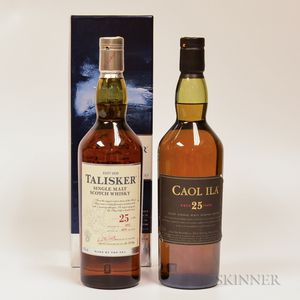 Mixed Single Malt Scotch, 2 70cl bottles