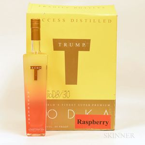 Trump Raspberry Vodka, 6 750ml bottles (oc)