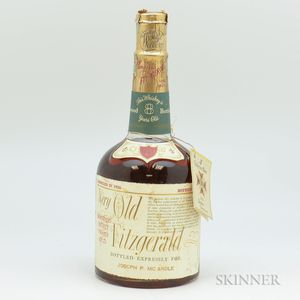 Very Old Fitzgerald 8 Years Old 1956, 1 4/5 quart bottle