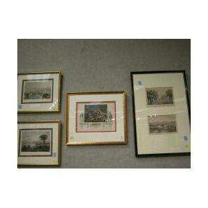 Lot of Four Framed Boston Prints.