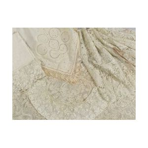 Large Group of Assorted Lace and Lace Fragments