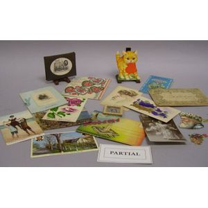 Small Group of Postcards and Collectible Paper Items