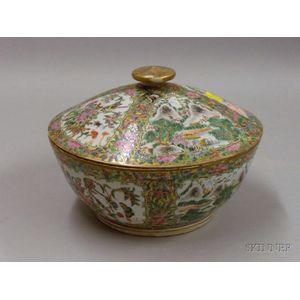 Chinese Export Covered Bowl