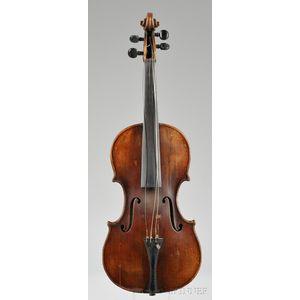 Markneukirchen Violin, c.1900, Heinrich T. Heberlein