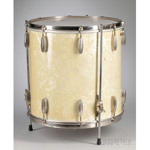 American Drum Set, Slingerland, Chicago, c. 1945, Model Radio King