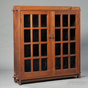Bookcase Attributed to L. & J.G. Stickley