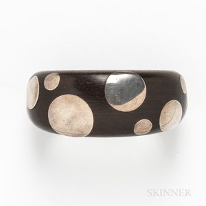 "William Spratling ""Polka Dot"" Cuff Bracelet"