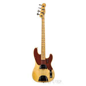 American Electric Bass Guitar, Fender Musical Instruments, Fullerton, 1951, Model   Precision Bass