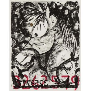 Jonathan Borofsky (American, b. 1942)      White Horse