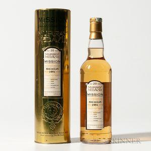 Macallan 20 Years Old 1991, 1 70cl bottle (ot)