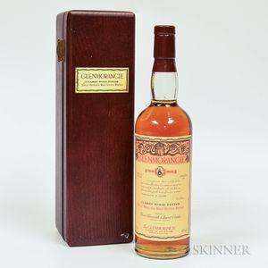 Glenmorangie Claret Wood Finish 1976-79, 1 70cl bottle (owc)