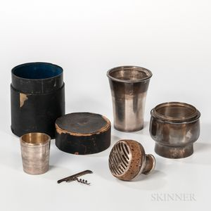 Cased Travel Cocktail Shaker