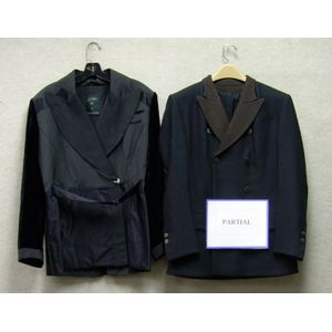 Three Jean Paul Gaultier Womans Suits and Two Jackets.