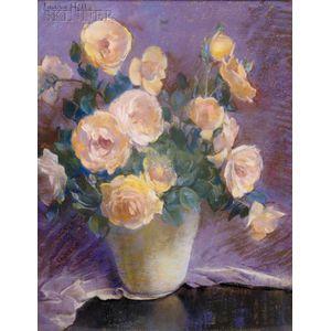 Laura Coombs Hills (American, 1859-1952)      Van Fleets