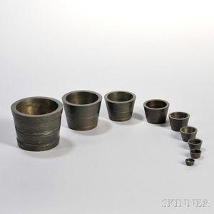 Set of Nesting Nuremberg Weights