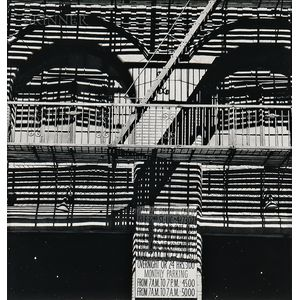 Various Artists: Eight Plates from A Portfolio of Thirteen Photographs to Commemorate...the New Home of the Anthology Film Archives...